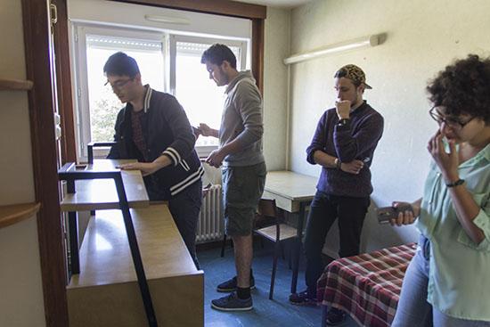 Résidence Mansart - découverte du mobilier actuel
