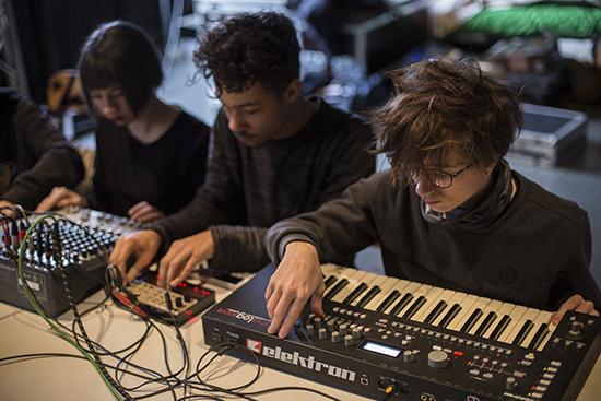"""Workshop """"Big Bang Techno"""" avec Nicolas Thirion et Jean-Christophe Desnoux"""