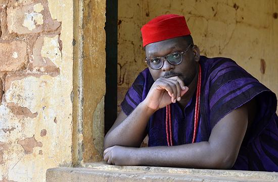 Portrait de l'artiste  Harold Kuassi  Photo - Charles