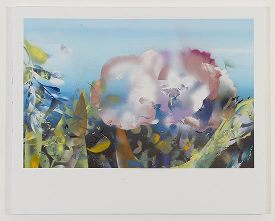 acrylique et encre sur toile. 90x110 cm. S.Calais