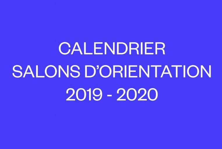 Calendrier Vae 2020.Calendrier Salons D Orientation 2019 2020 Ensa Dijon